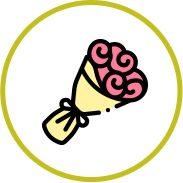 Icona fiori freschi